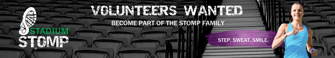 Stadium Stomp 2017 Volunteers